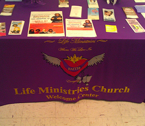 Live In Faith Everyday Ministries Table, Non-Denominational Church in Beaufort, SC