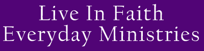 Logo, Live In Faith Everyday Ministries, Non-Denominational Church in Beaufort, SC